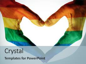 top lgbt hands powerpoint templates backgrounds slides and ppt themes