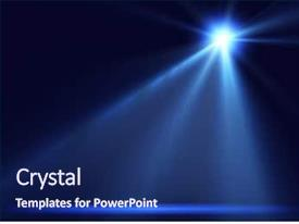Colorful slide deck enhanced with light - concert lighting against a dark backdrop and a navy blue colored foreground