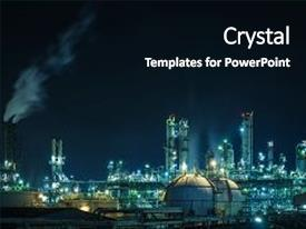 5000 industrial powerpoint templates w industrial themed backgrounds theme featuring lights of petrochemical industry plant with night factory oil and gas refinery industrial background toneelgroepblik Image collections