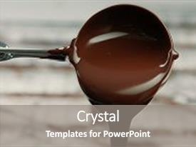 5000 chocolate powerpoint templates w chocolate themed backgrounds beautiful ppt theme featuring liquid in fabric backdrop and a toneelgroepblik Image collections