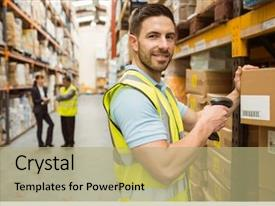 5000+ Warehouse PowerPoint Templates w/ Warehouse-Themed Backgrounds