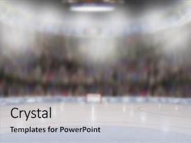 5000 hockey powerpoint templates w hockey themed backgrounds presentation theme having low angle view of fictitious hockey arena with sports fans in the stands toneelgroepblik Choice Image