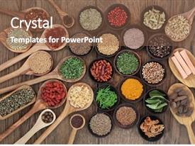 2000+ Selection-of-herbs-and-spices PowerPoint Templates w