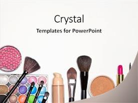 Top Cosmetics Free PowerPoint Templates, Backgrounds, Slides