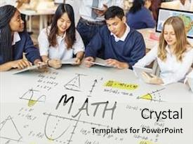 500+ Maths Project PowerPoint Templates w/ Maths Project-Themed