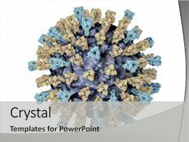 300 measles virus powerpoint templates w measles virus themed audience pleasing theme consisting of protein structure measles virus 3d illustration showing backdrop and a toneelgroepblik Gallery