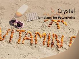 5000 vitamin powerpoint templates w vitamin themed backgrounds slide deck featuring medical pills inscription vitamin d background and a coral colored foreground toneelgroepblik Image collections