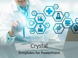 5000 health science powerpoint templates w health science themed audience pleasing slides consisting of medical science concept doctor backdrop and a light gray colored toneelgroepblik Images