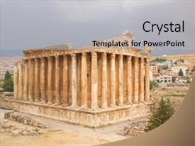 100 baalbeck powerpoint templates w baalbeck themed backgrounds