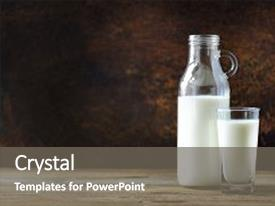 5000 bottle powerpoint templates w bottle themed backgrounds ppt layouts featuring milk and milk glass on wooden table healthy eating conceptmilk toneelgroepblik Choice Image
