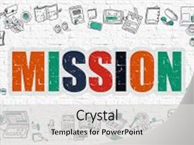 5000 mission powerpoint templates w mission themed backgrounds colorful slide set enhanced with mission concept modern line style backdrop and a light gray colored toneelgroepblik Images
