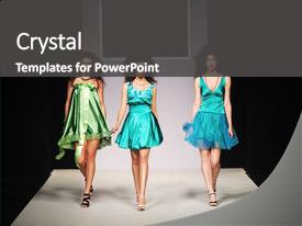 5000 fashion show powerpoint templates w fashion show themed colorful ppt theme enhanced with model walking on fashion show backdrop and a dark gray colored toneelgroepblik Image collections