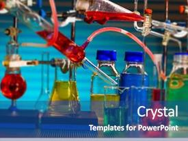 Science Nanoparticles Powerpoint Templates W Science