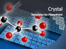 4000 chemistry periodic table powerpoint templates w chemistry presentation theme enhanced with molecule structure and periodic table background and a dark gray colored foreground urtaz Images