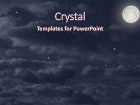 Colorful PPT layouts enhanced with moon in the night sky backdrop and a wine colored foreground.