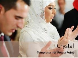 Wedding Islam Powerpoint Templates W Wedding Islam Themed