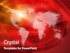 Top News Channel PowerPoint Templates, Backgrounds, Slides