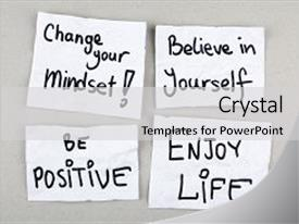 Top mindset powerpoint templates backgrounds slides and ppt themes presentation design featuring believe yourself motivational inspirational positive quotes phrases background and a light gray toneelgroepblik Images