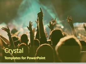 Music Festival Powerpoint Templates W Music Festival Themed