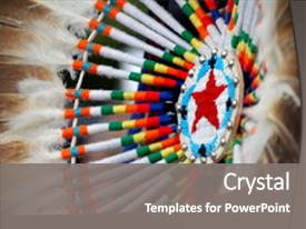 5000 native american indian powerpoint templates w native american ppt theme having native american design with beading background and a gray colored foreground toneelgroepblik Images