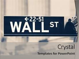 Slide deck having new york stock exchange background and a light gray colored foreground.