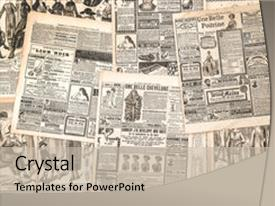 4000 victorian age powerpoint templates w victorian age themed colorful ppt theme enhanced with newspaper pages with antique advertising backdrop and a mint green colored toneelgroepblik Gallery