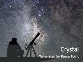 5000 astronomy powerpoint templates w astronomy themed backgrounds beautiful theme featuring natural science night sky milky way galaxy backdrop and a dark gray toneelgroepblik Image collections