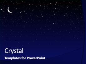 5000 night sky powerpoint templates w night sky themed backgrounds