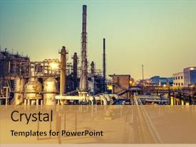 5000+ Chemical Plant PowerPoint Templates w/ Chemical Plant-Themed