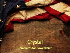 American history powerpoint templates crystalgraphics amazing presentation having memorial old american flag background backdrop and a tawny brown colored foreground toneelgroepblik Images
