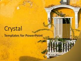 5000 colonial america powerpoint templates w colonial america beautiful theme featuring colonies old colonial balcony backdrop and a gold colored foreground toneelgroepblik Image collections