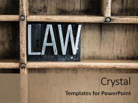 Colorful slide deck enhanced with bylaws - old doctrine - word law backdrop and a coral colored foreground.