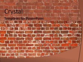 5000 brick walls powerpoint templates w brick walls themed backgrounds