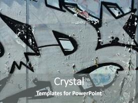 5000 graffiti powerpoint templates w graffiti themed backgrounds beautiful presentation featuring old wall painted in color graffiti drawing silver chrome aerosol paints background image toneelgroepblik Gallery