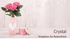 Beautiful presentation theme featuring old white wooden background backdrop and a lemonade colored foreground