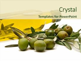 Top Olive Oil PowerPoint Templates, Backgrounds, Slides and PPT Themes