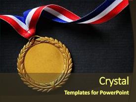 top olympic medals powerpoint templates backgrounds slides and ppt