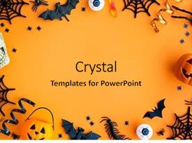 Halloween Powerpoint Templates W Halloween Themed Backgrounds