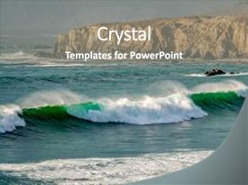 Cool new slides with pacific coast landscape sand dollar backdrop and a  colored foreground.