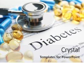 Diabetes Mellitus Diagnosis Medical Powerpoint Templates W