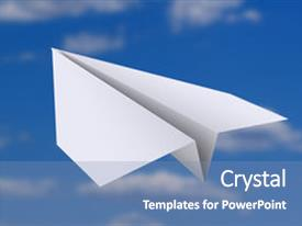 Top Paper Airplane Powerpoint Templates Backgrounds Slides And Ppt