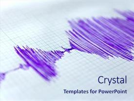 200 seismic waves powerpoint templates w seismic waves themed audience pleasing theme consisting of paper earthquake wave on graph backdrop and a sky blue colored toneelgroepblik Choice Image