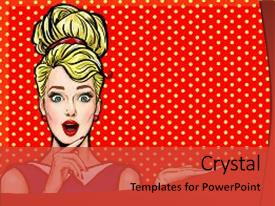 5000 pop art powerpoint templates w pop art themed backgrounds presentation design with party invitation birthday card comic background and a red colored foreground toneelgroepblik Image collections