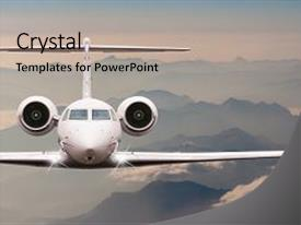 5000 aircraft powerpoint templates w aircraft themed backgrounds cool new ppt layouts with alps passenger or cargo plane business backdrop and a light toneelgroepblik Gallery