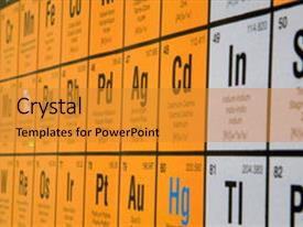 5000 periodic table powerpoint templates w periodic table themed colorful ppt theme enhanced with periodic table of elements backdrop and a gold colored foreground urtaz Choice Image