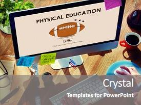 200 Computer Physical Education Powerpoint Templates W Computer
