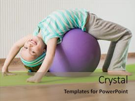 Top Preschool Yoga Powerpoint Templates Backgrounds Slides And Ppt