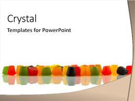 top gumdrops powerpoint templates backgrounds slides and ppt themes