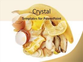 Food Litter Powerpoint Templates W Food Litter Themed