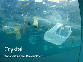 5000+ plastic pollution powerpoint templates w/ plastic pollution, Powerpoint Plastic Bag Presentation Template, Presentation templates